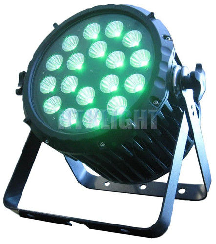 High Bright LED Stage Par Lights , Durable 18×10w RGB Small Par Can Lights