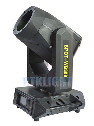 Beam Wash Spot Moving Head Light 18R 300W DMX512 Touch Screen Effect Stage Show