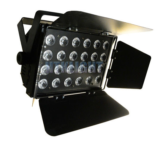 24 * 10W RGBW 4 in1 Led Stage Lighting For Churches High Brightness