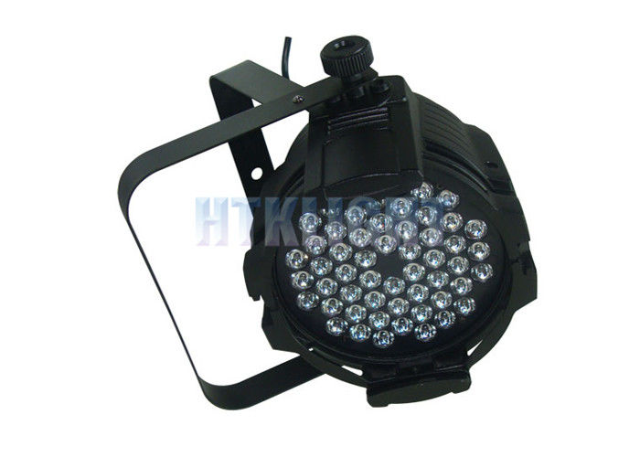 High Efficiency 54 Pcs 3W RGBW Theater Spot Lights For Event / TV Studio