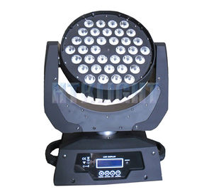 Chiny Dj Lights LED Wash Głowica ruchoma, 36x10w Led Moving Head Light 50000 Hours Lifespan fabryka