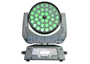 Chiny 450W Led Moving Wash Light, 36x10w Rgbw 4w1 Led Zoom Moving Head Light fabryka