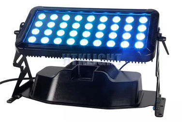 36x8W Rgb Led Wall Washer Lights, IP65 4w1 Led Wall Wash Outdoor Lighting