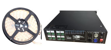 Chiny Rack Mounted DMX 800W RGB LED Driver / Led Rope Light Controller fabryka
