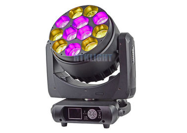 Chiny 12X40W LED Zoom Wash Moving Head na imprezy, teatr, impreza CE RoHS fabryka