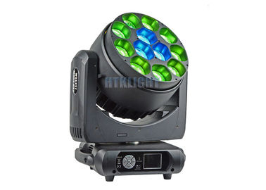 Chiny Osram 40 Watt LED Wash Zoom Moving Head / Professional Stage Lighting Equipment fabryka
